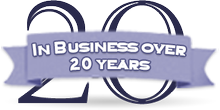 In business over 20 years